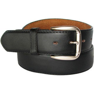 "King Stallion Collection Black Size 40"" Men's Travelers Leather Money Belt To Secure Currency"