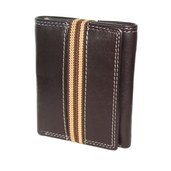 Shop Genuine Cowhide Men's Leather Wallet with Stretch ...