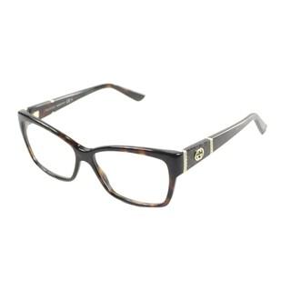 Gucci Women's 'GG 3559 TVD' Havana Eyeglasses