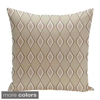 Diamond Pattern 16-inch Geometric Decorative Throw Pillow