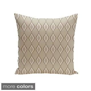 Square 18-inch Diamond Pattern Geometric Decorative Throw Pillow