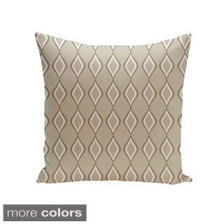 Square 20-inch Diamond Pattern Geometric Decorative Throw Pillow