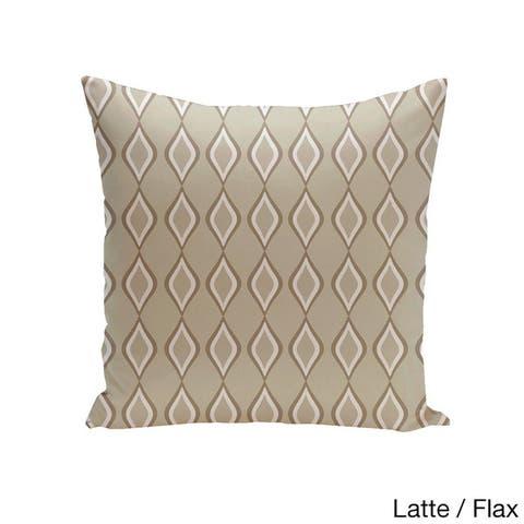 Square 26-inch Diamond Pattern Geometric Decorative Throw Pillow