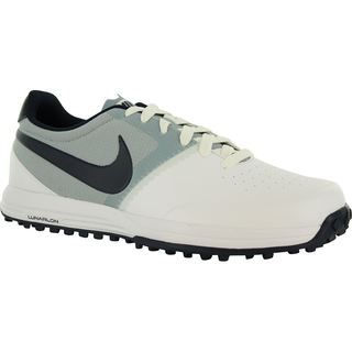 Nike Mens Lunar Mont Roya Spikelessl Golf Shoes 652530-100 white/obsidian/lt magnet/grey