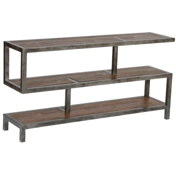 Maxon 3 Tier Shelf Console Table