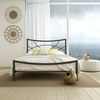 Amisco Equinox Queen Size Metal Headboard and Footboard