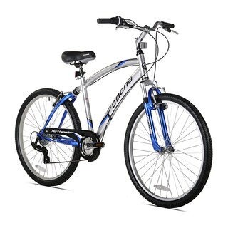 Kent Northwoods Pomona 26-inch Men's Dual Suspension Comfort Bike