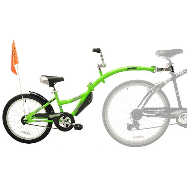 Kent WeeRide Co-Pilot Green Bike Training Trailer