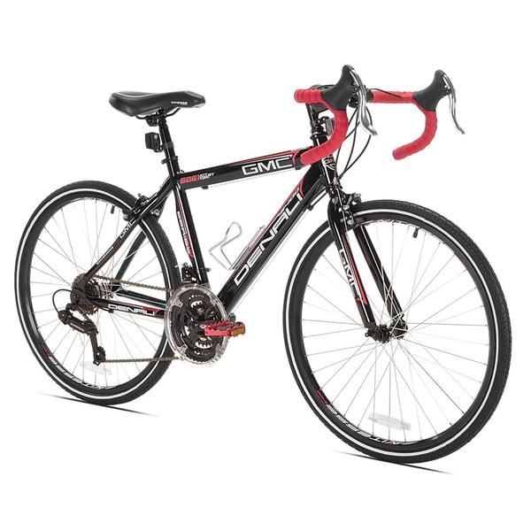 GMC Denali 24-inch Black/ Red Boys Road Bike