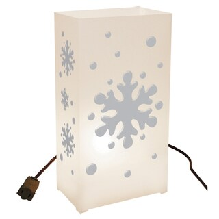 Electric Snowflake Luminaria Kit (Set of 10)