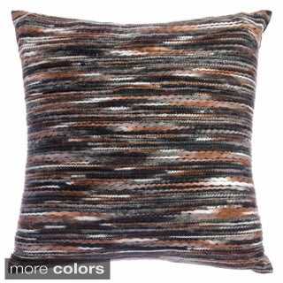 Gracie Decorative 18-inch Feather Filled Throw Pillow (Set of 2)