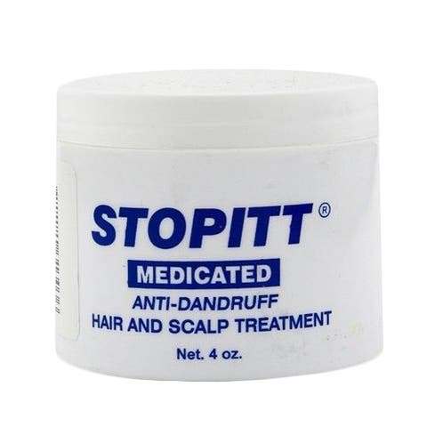 Stopitt Medicated Anti-Dandruff 4-ounce Hair and Scalp Treatment