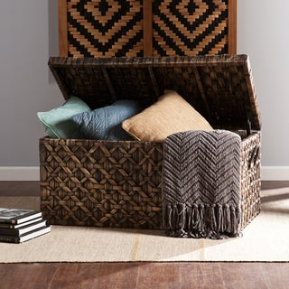 The Curated Nomad Terraza Water Hyacinth Storage Trunk
