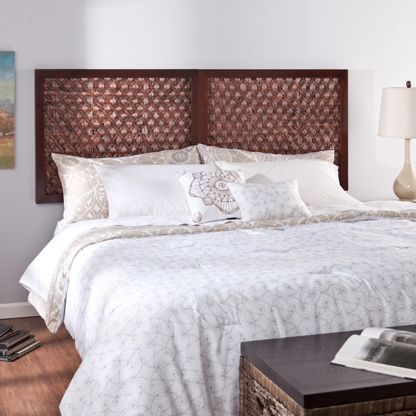 shop upton home chauvin wall mount king headboard free shipping today 9576286. Black Bedroom Furniture Sets. Home Design Ideas