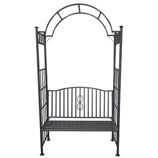 Toscana Steel Arch-style Arbor Bench