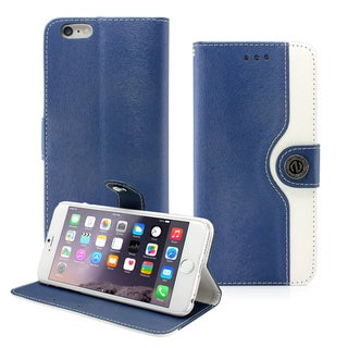 Gearonic PU Leather Wallet Flip Case Cover for Apple iPhone 6 Plus 5.5""