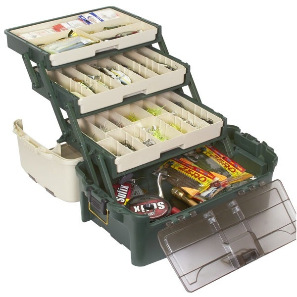 Plano tackle systems hybrid hip 3 tray box free shipping for Overstock furniture and mattress plano