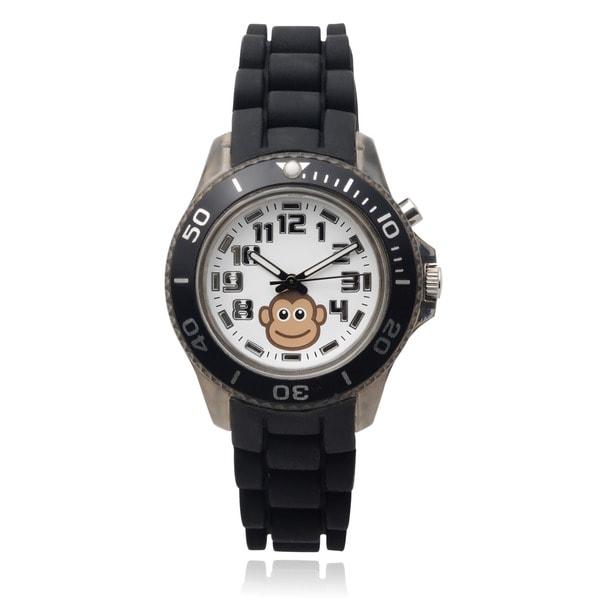 Shop Geneva Platinum Kids' Light Up Monkey Round Face