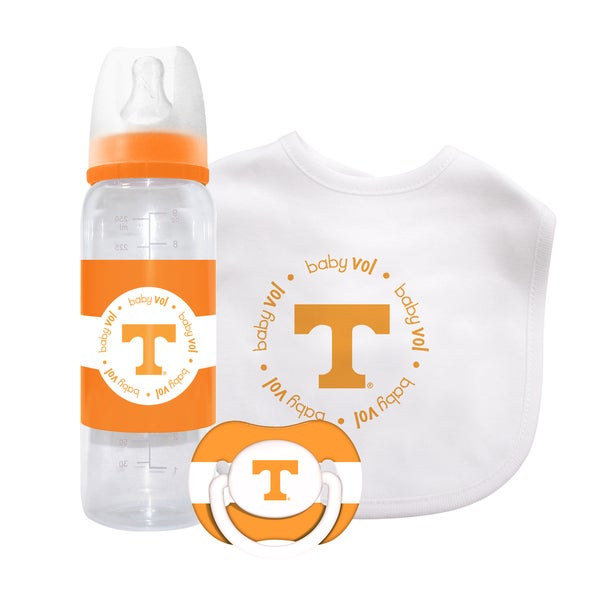 Baby Fanatic NCAA Tennessee Volunteers 3-piece Baby Gift Set