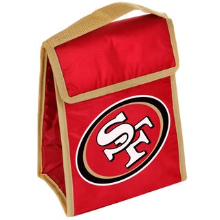 Forever Collectibles San Francisco 49ers Big Logo Velcro Lunch Bag