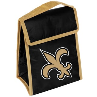 Forever Collectibles New Orleans Saints Big Logo Velcro Lunch Bag