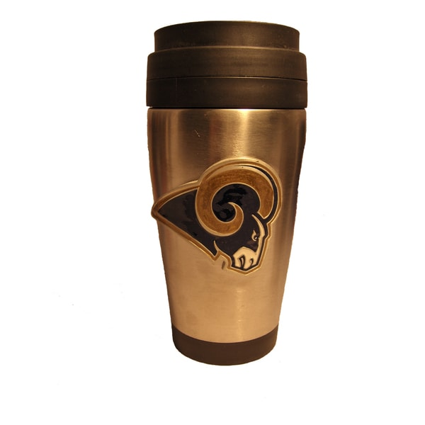 St. Louis Rams Stainless Steel Travel Coffee Tumbler