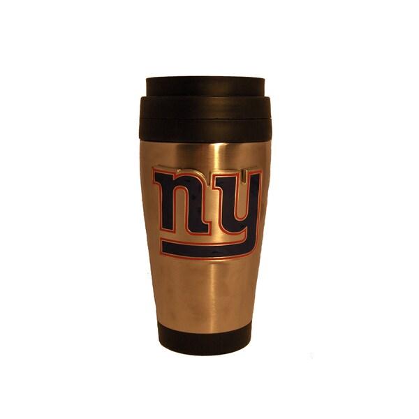 NFL New York Giants Stainless Steel Travel Coffee Tumbler