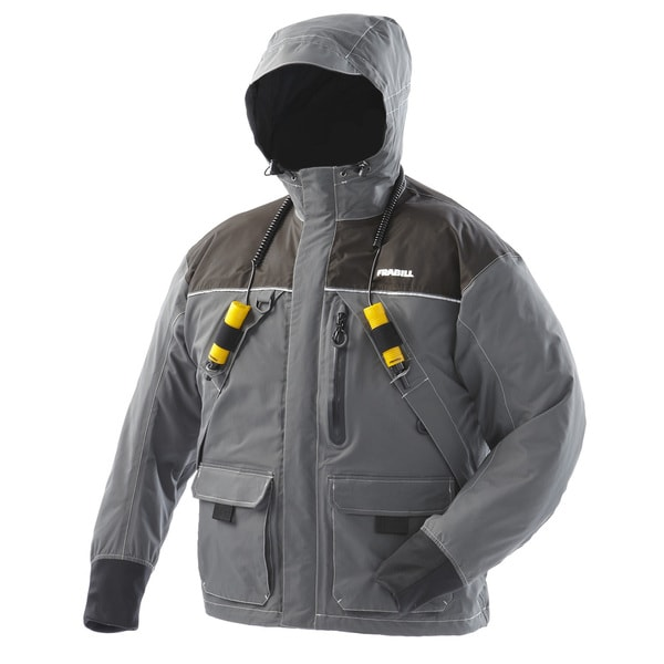 Frabill i2 ice fishing jacket free shipping today for Ice fishing jacket