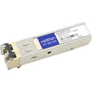 AddOn Finisar FCLF-8520-3 Compatible TAA Compliant 1000Base-TX SFP Tr