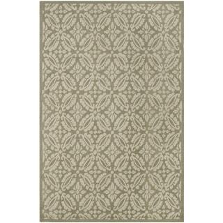 Safavieh Hand-hooked Chelsea Sage Wool Rug (6' x 9')