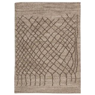 Rug Squared Pueblo Bone Abstract Area Rug (5' x 7')