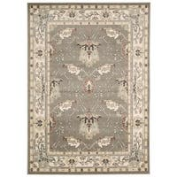 Rug Squared Springfield Grey Oriental Area Rug (2'2 x 7'6) - 2'2 x 7'6