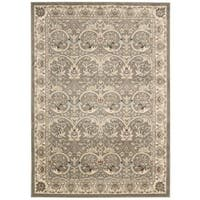 Rug Squared Springfield Oriental Grey Area Rug - 2'2 x 7'6