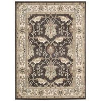 Rug Squared Springfield Bistre Oriental Area Rug (9'3 x 12'9) - 9'3 x 12'9