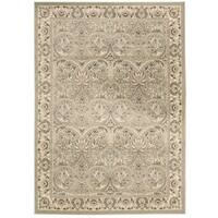 Rug Squared Springfield Light Green Oriental Area Rug - 9'3 x 12'9