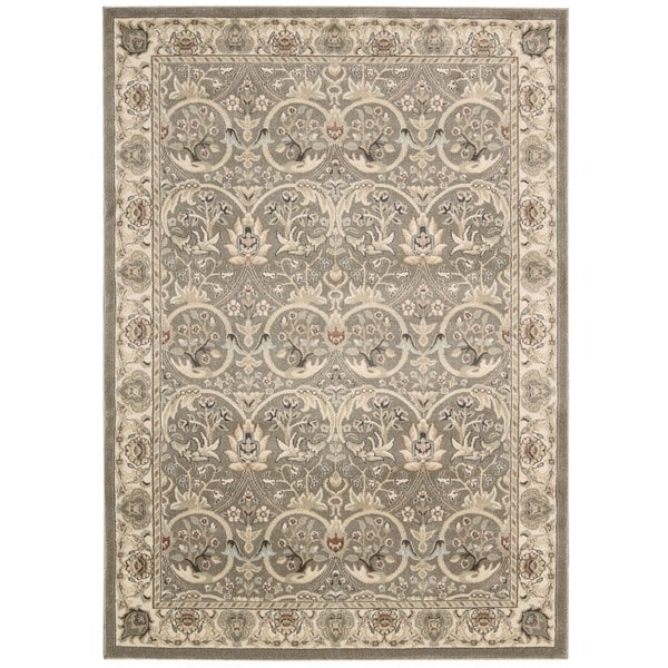 Rug Squared Springfield Grey Rug (7'10 x 10'6)