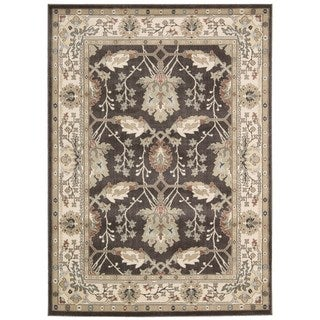 Rug Squared Springfield Bistre Oriental Area Rug (5'3 x 7'4)