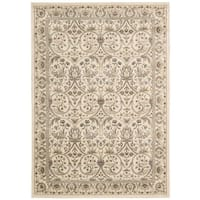 Rug Squared Springfield Ivory Oriental Area Rug - 3'9 x 5'9