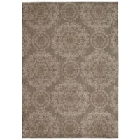 Rug Squared Wellesley Stone Graphic Area Rug (9'3 x 12'9) - 9'3 x 12'9