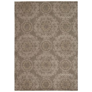 Rug Squared Wellesley Stone Graphic Area Rug (7'9 x 10'10)