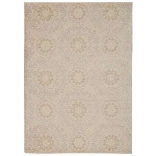 Rug Squared Wellesley Ivory Graphic Area Rug (7'9 x 10'10)
