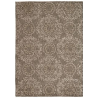 Rug Squared Wellesley Stone Graphic Area Rug (3'9 x 5'9)