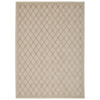 Rug Squared Wellesley Ivory Graphic Area Rug - 5'3 x 7'5