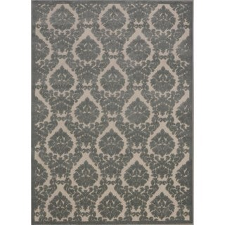 Rug Squared Montrose Ivory Green Abstract Area Rug (2'6 x 4')