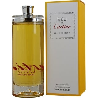 Cartier Zeste de Soleil Women's 6.7-ounce Eau de Toilette Spray