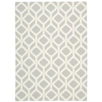Rug Squared Milford Grey Graphic Area Rug