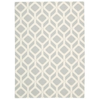 Rug Squared Milford Grey Graphic Area Rug (2'6 x 4')