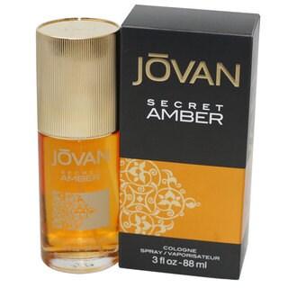 Jovan Secret Amber Women's 3-ounce Cologne Spray