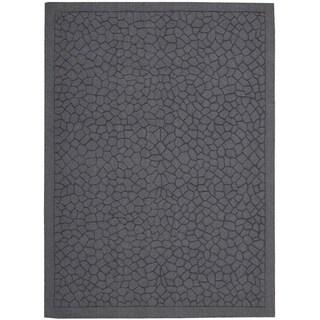Rug Squared Santa Fe Lagoon Print Area Rug (5'3 x 7'4)