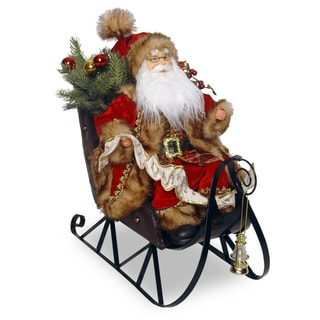 18-inch Santa on Sleigh